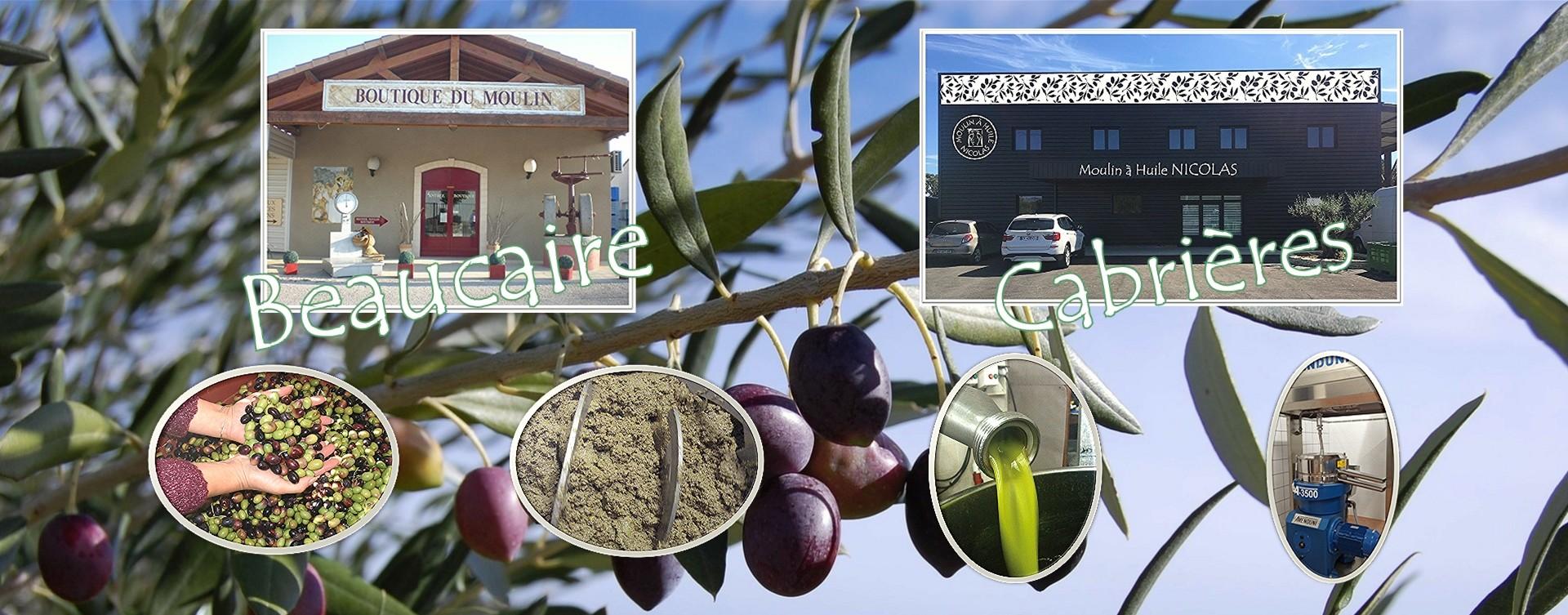 Fabrication de votre huile d'olive Beaucaire ou Cabrières