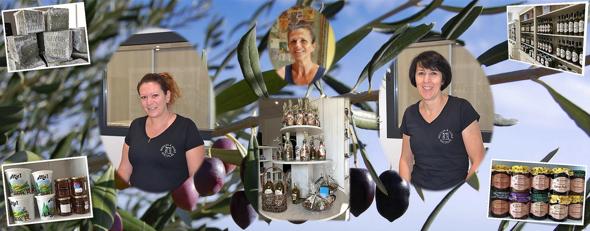 Adeline, Fabienne et Nathalie vous accueillent en boutique